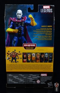 marvel legends morph figure review - package rear