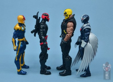 marvel legends rage figure review - facing nova, night thrasher and darkhawk