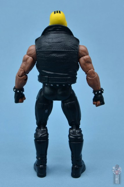 marvel legends rage figure review - rear