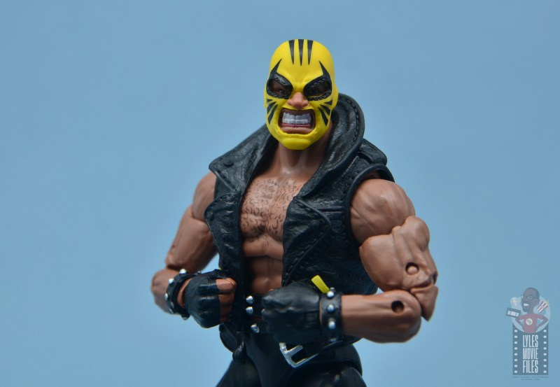 marvel legends rage figure review - wide shot