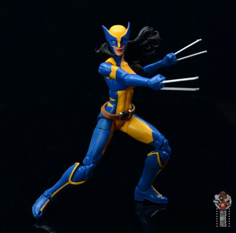 Marvel Legends Wolverine Figure Review Baf Sauron Wave
