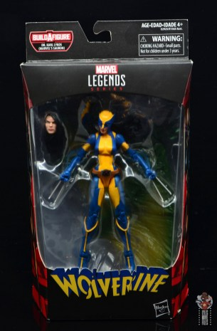marvel legends wolverine figure review - package front