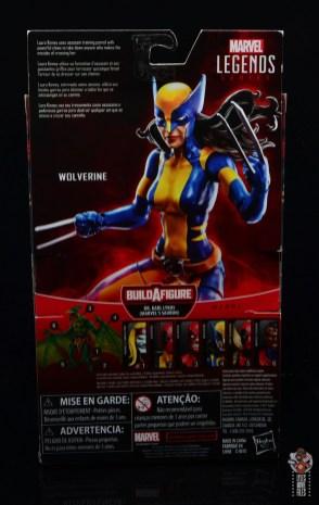 marvel legends wolverine figure review - package rear