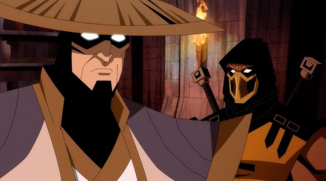mortal kombat scorpion's revenge -raiden and scorpion