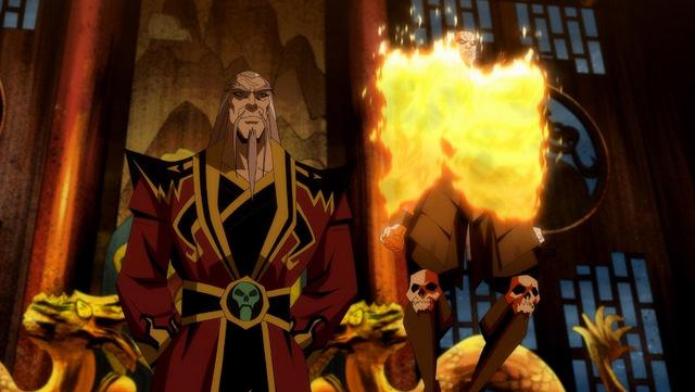 mortal kombat scorpion's revenge - shang tsung