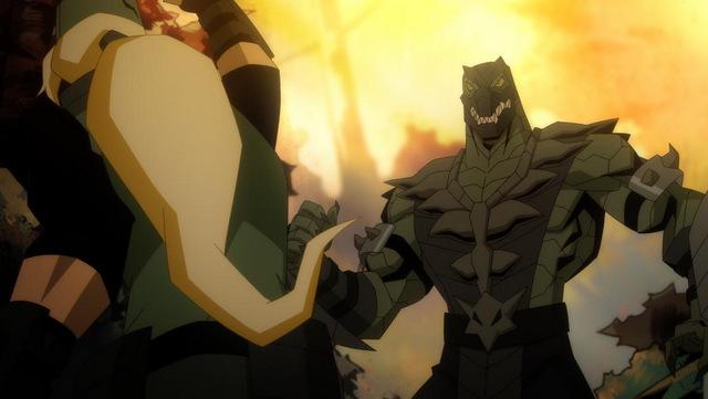 mortal kombat scorpion's revenge - sonya blade vs reptile