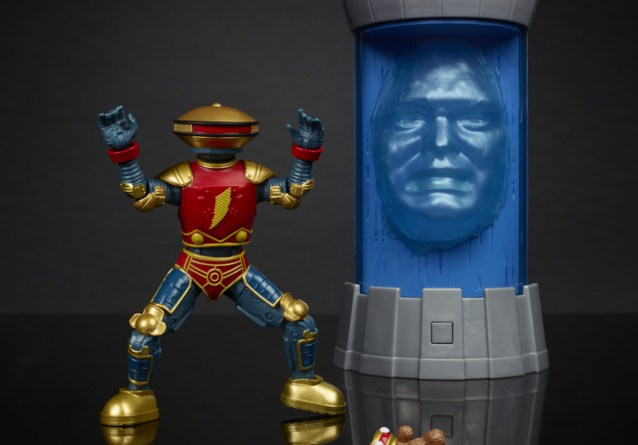 power rangers lightning collection alpha 5 and zordon two pack - loose