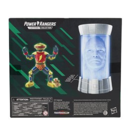 power rangers lightning collection alpha 5 and zordon two pack - rear package