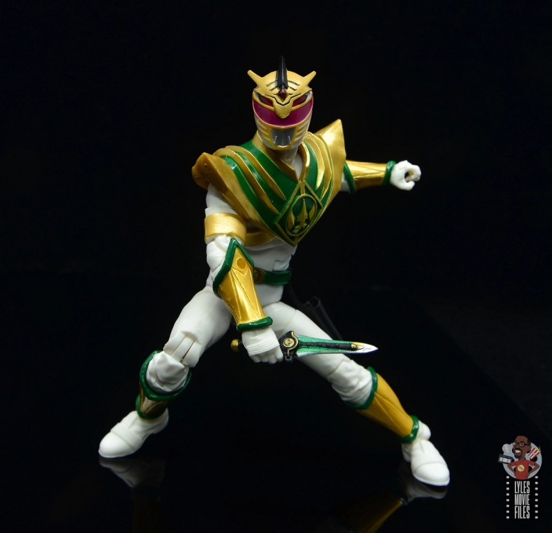 power rangers lightning collection lord drakkon figure review - battle stance