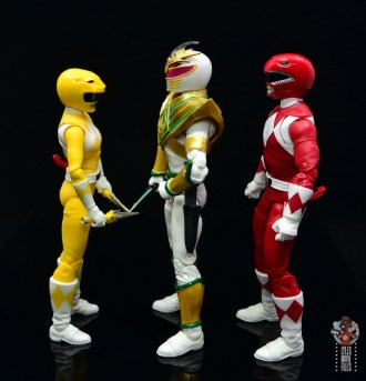 power rangers lightning collection lord drakkon figure review - facing yellow ranger and red ranger