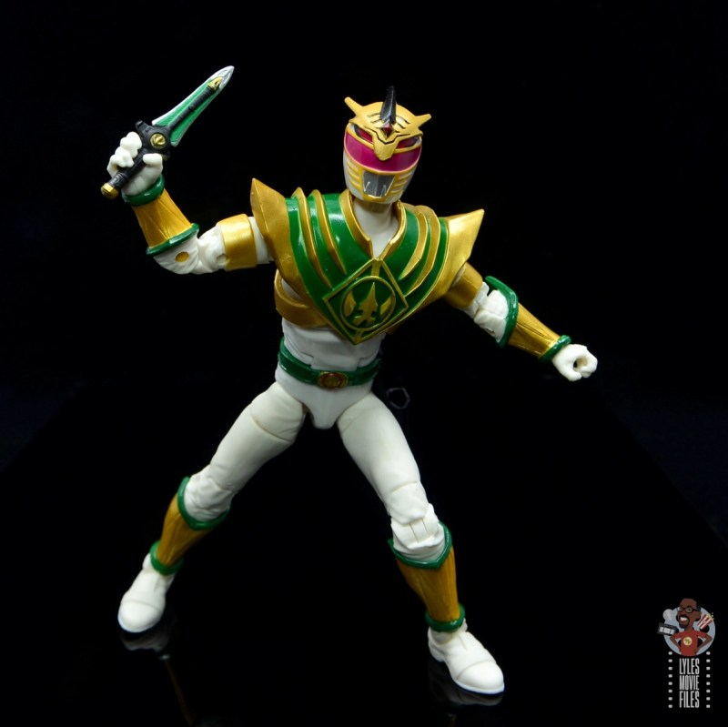 power rangers lightning collection lord drakkon figure review - holding dagger up