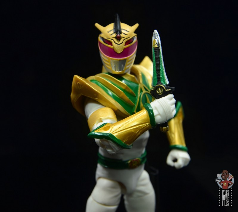 power rangers lightning collection lord drakkon figure review - holding dagger