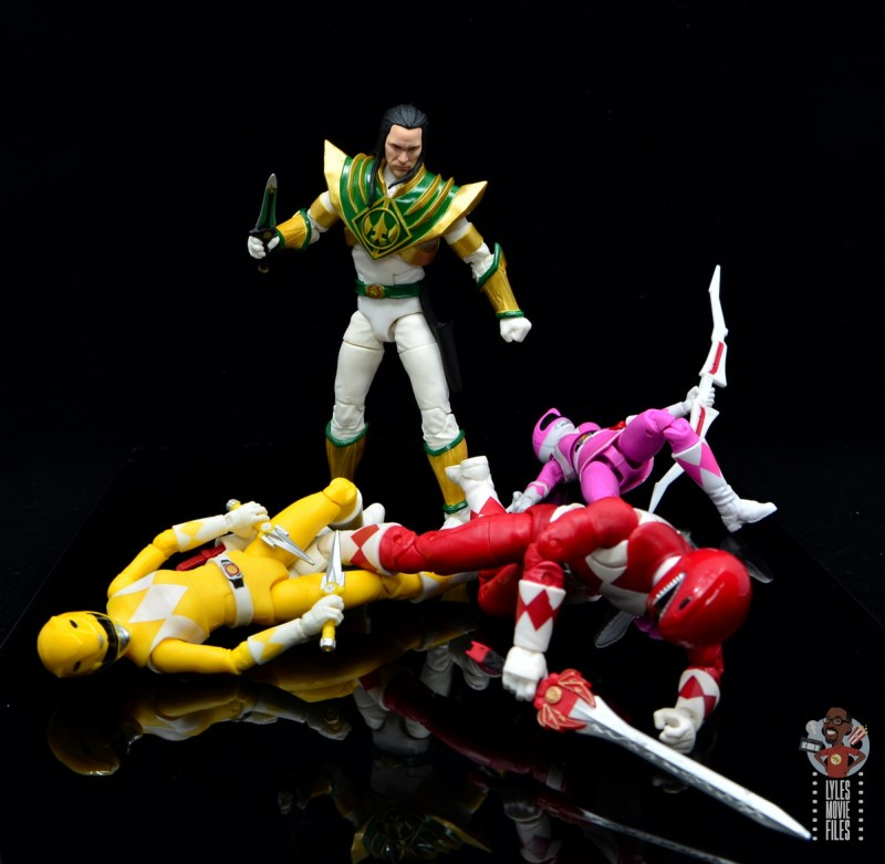 power rangers lightning collection lord drakkon figure review - over vanquished power rangers