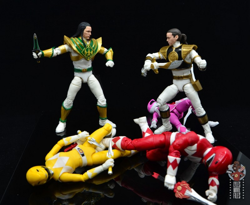 power rangers lightning collection lord drakkon figure review - tommy comes to save the day