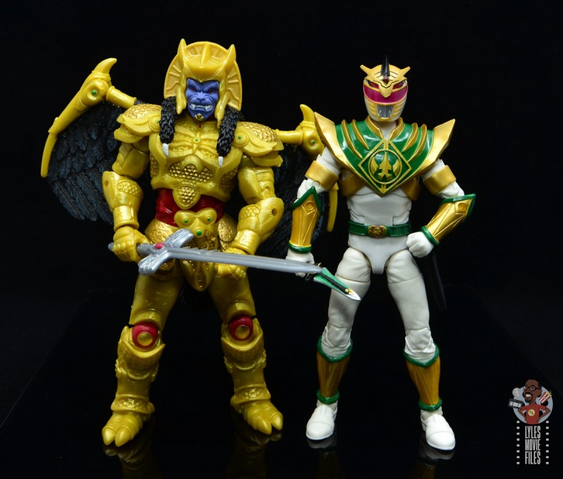 power rangers lightning collection lord drakkon figure review - with goldar