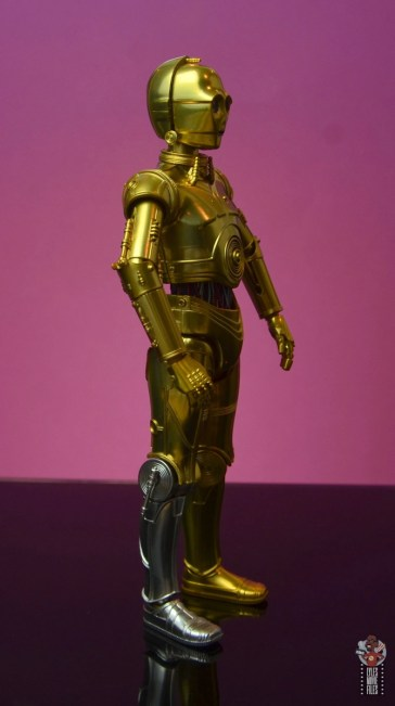 sh figuarts star wars c-3p0 figure review - right side