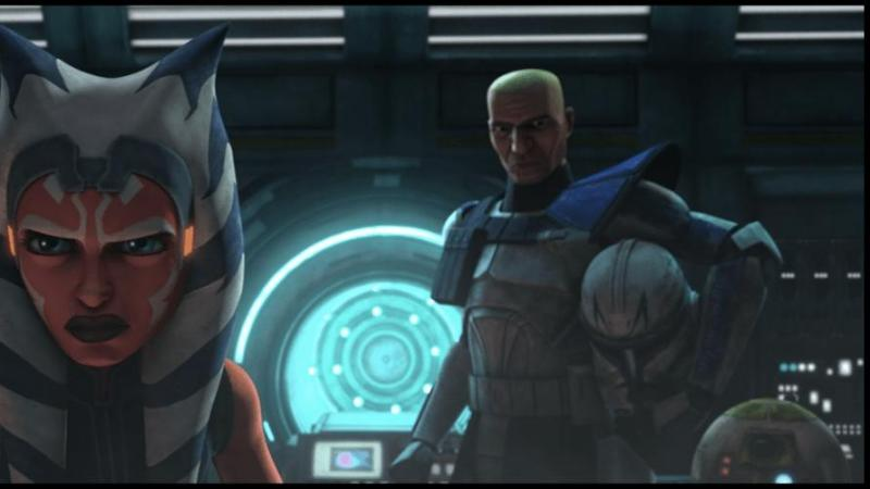 star wars the clone wars season 7 - victory and death review - ahsoka and rex