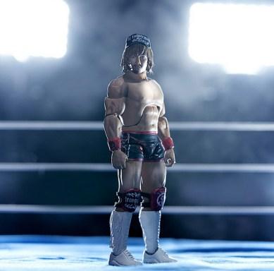 super 7 naito figure -New Japan Pro-Wrestling Ultimate - Tetsuya Naito - in the ring