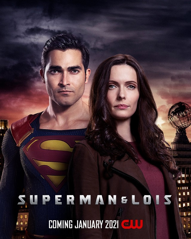 superman and lois poster