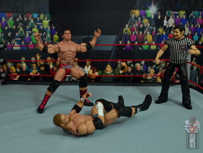 wwe elite hall of champions batista figure review - getting hyped