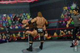 wwe elite hall of champions batista figure review - spear to triple h
