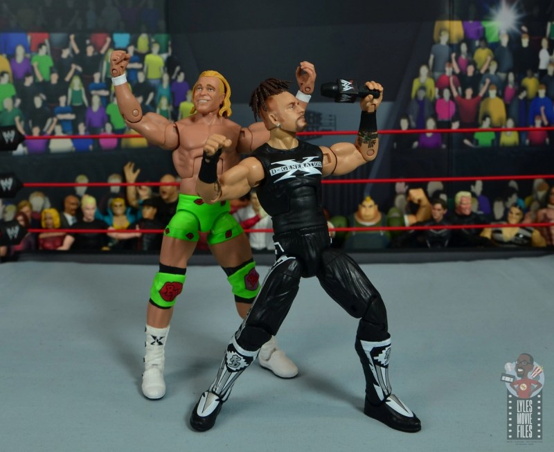 wwe elite hall of champions road dogg figure review - ring ntro with billy gunn