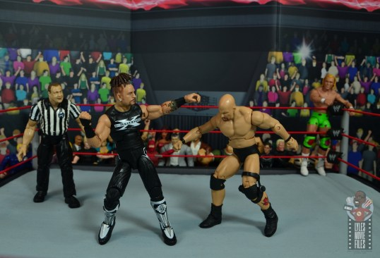 wwe elite hall of champions road dogg figure review -shake rattle and roll punch to stone cold
