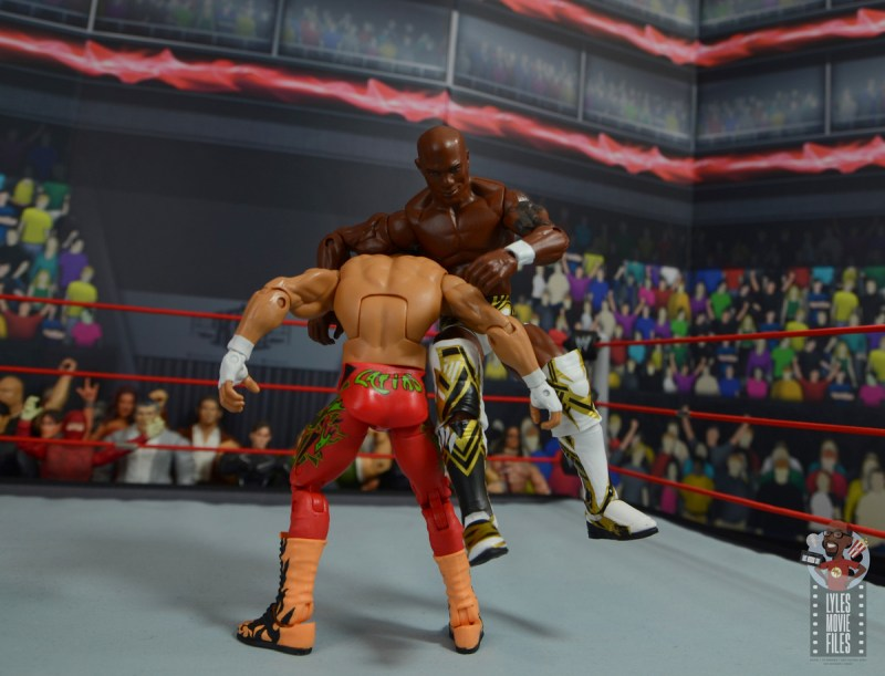 wwe elite shelton benjamin figure review - paydirt on eddie guerrero