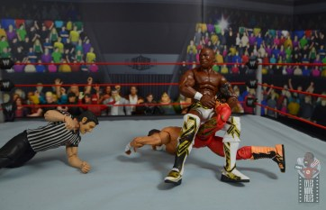 wwe elite shelton benjamin figure review - single crab to eddie guerrero