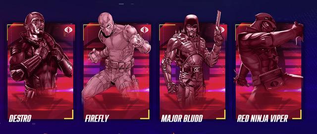 G.I. JOE Characters, Action Figures, Action Heroes List - G.I. JOE Hasbro