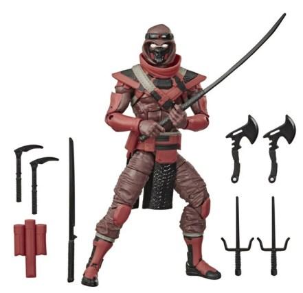 G.I. Joe Classified Series 6-Inch Red Ninja Action Figure - collage