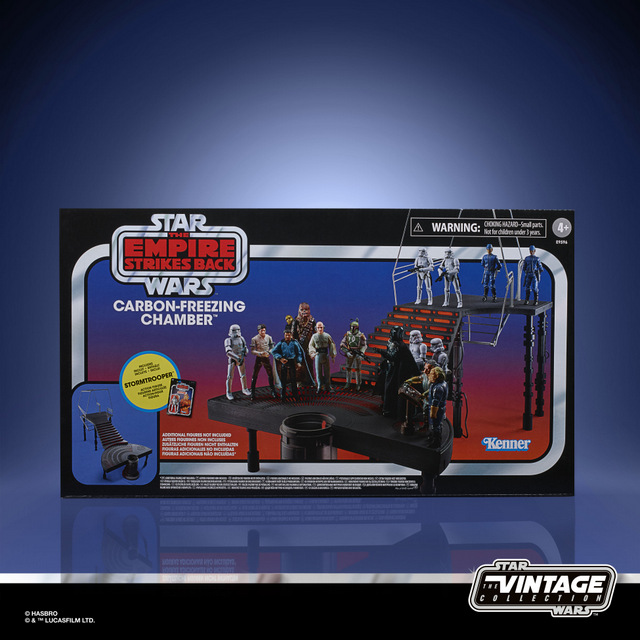 STAR WARS THE VINTAGE COLLECTION CARBON-FREEZING CHAMBER Playset - in pck (2)