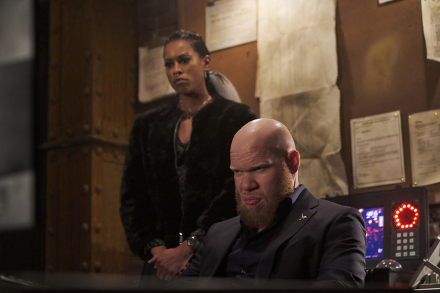 black lightning the book of the apocalypse chapter one the alpha review - giselle and tobias