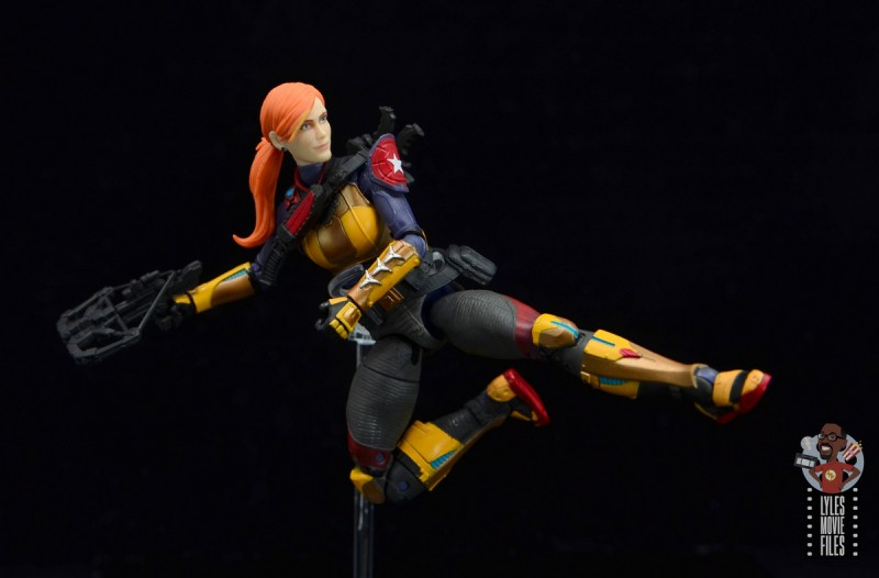 gi joe classified scarlett figure review - jump kick