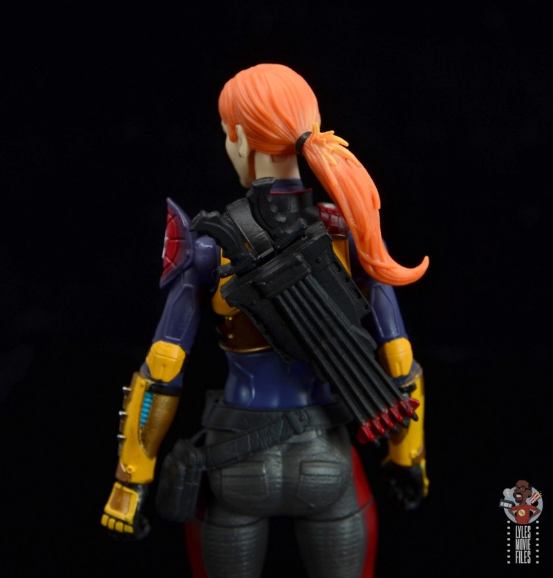 gi joe classified scarlett figure review - quiver detail