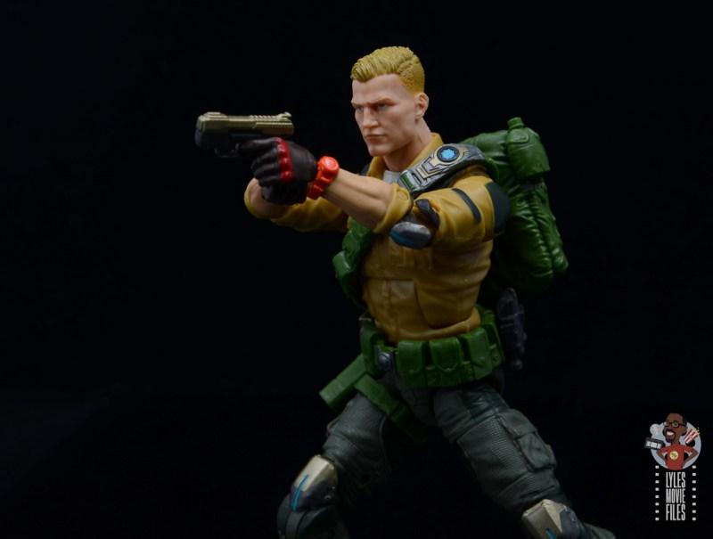 gi joe classified series duke figure review - aiming pistol