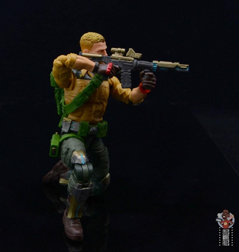 gi joe classified series duke figure review - aiming rifle