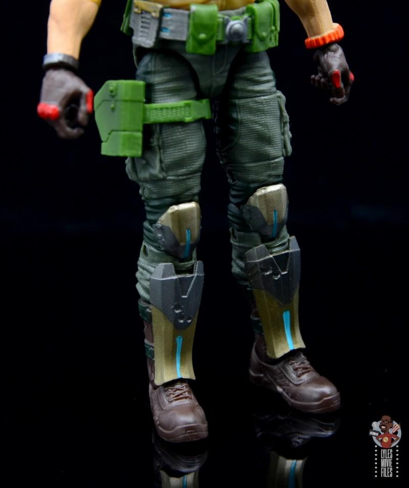gi joe classified series duke figure review - holster and boot detail