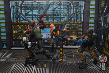 gi joe classified series roadblock figure review - laying the smack down with scarlett