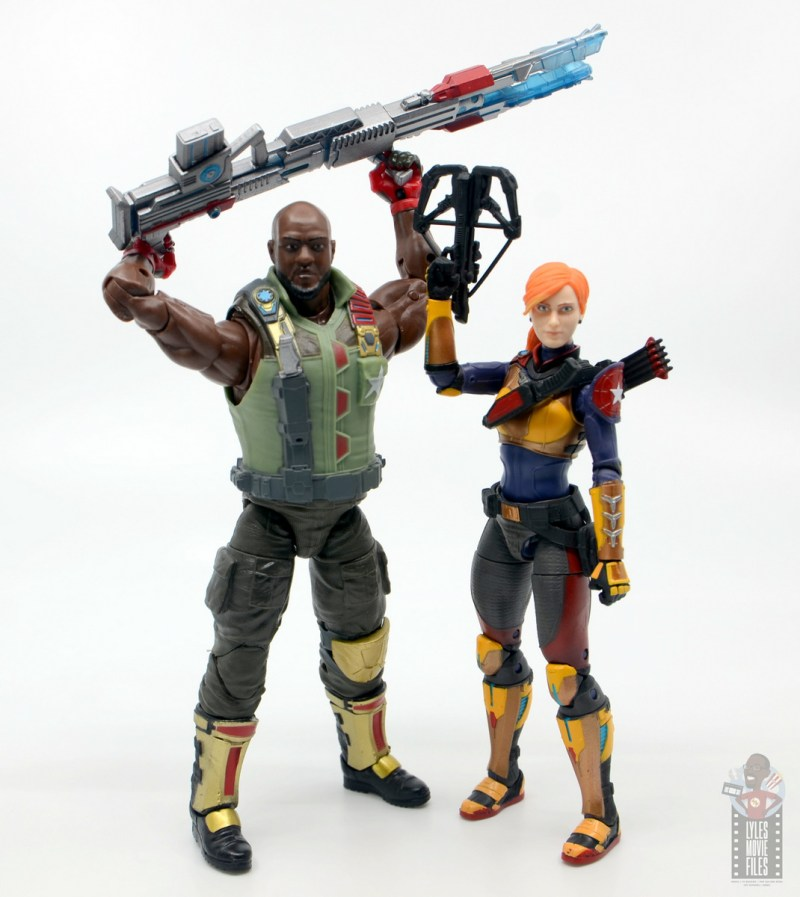 gi joe classified series roadblock figure review - ready for action with scarlett