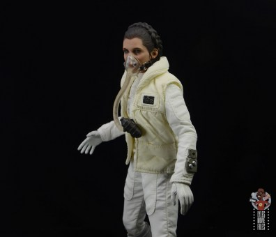 hot toys star wars hoth princess leia figure review - breathing mask side