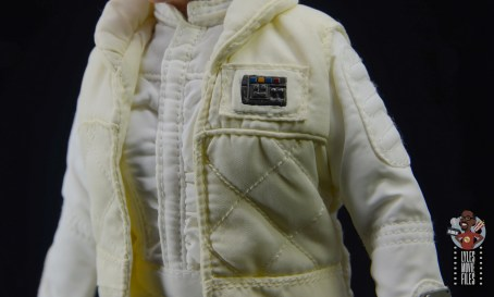 hot toys star wars hoth princess leia figure review - jacket detail