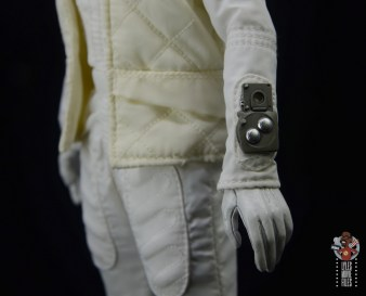 hot toys star wars hoth princess leia figure review - wrist device