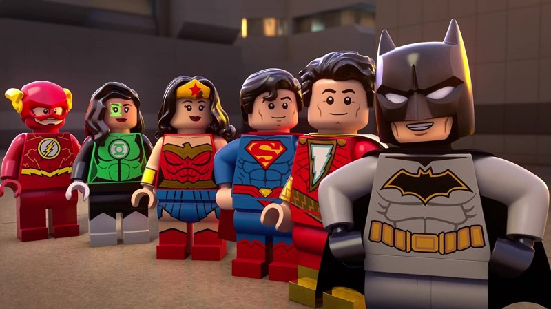 lego dc shazam magic and monsters review -flash, jessica cruz, wonder woman, superman, shazam and batman