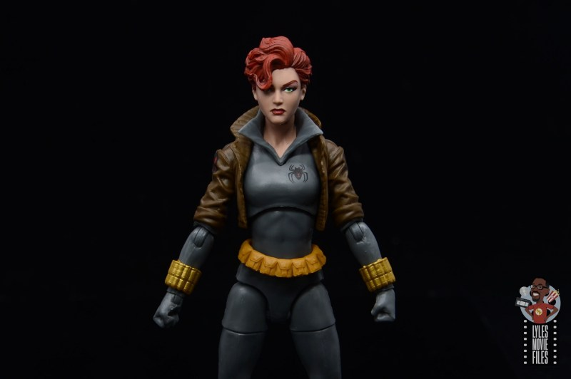 marvel legends black widow wal-mart exclusive figure review - wide pic