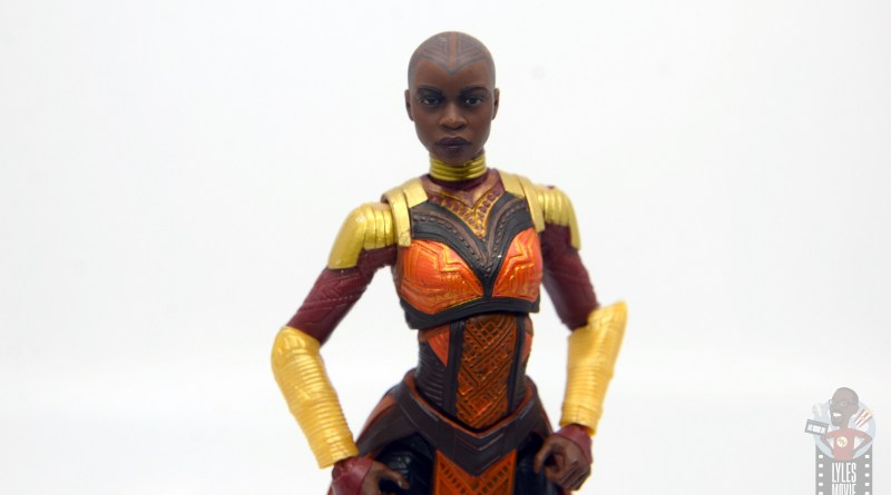 marvel legends build a figure okoye figure review -main pic