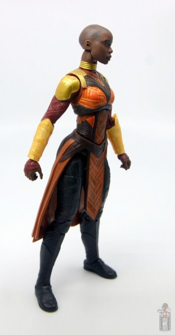 marvel legends build a figure okoye figure review -right side