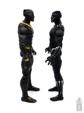 marvel legends erik killmonger figure review - facing black panther