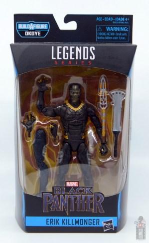 marvel legends erik killmonger figure review - package front