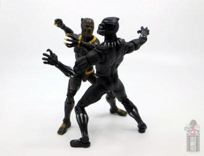 marvel legends erik killmonger figure review - slashing black panther